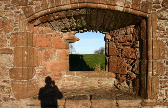 Caelaverock Castle. Tom Parnell