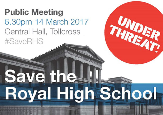 Public meeting - 6.30pm 14 March 2017. Central Hall Tolcross