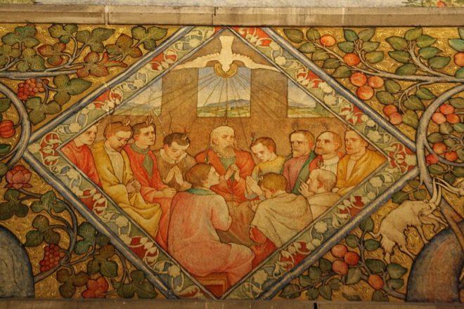 Phoebe Traquair Mural Tour (Mansfield Church & Episcopal