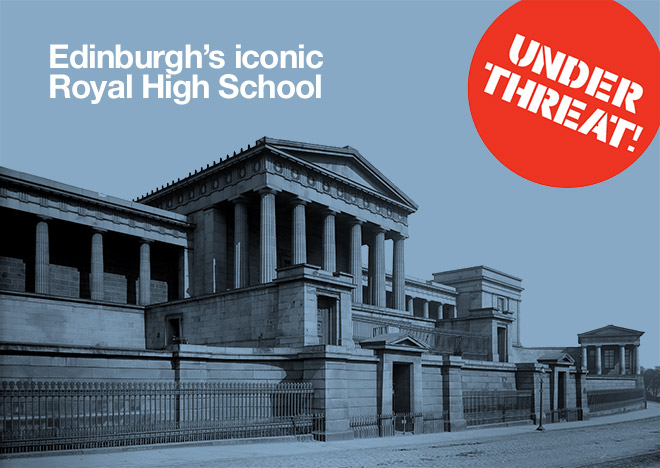 Edinburgh's iconic Royal High School under threat